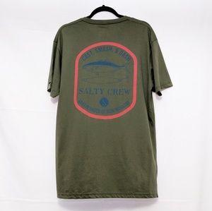 Salty Crew Fishing Lewer T-Shirt